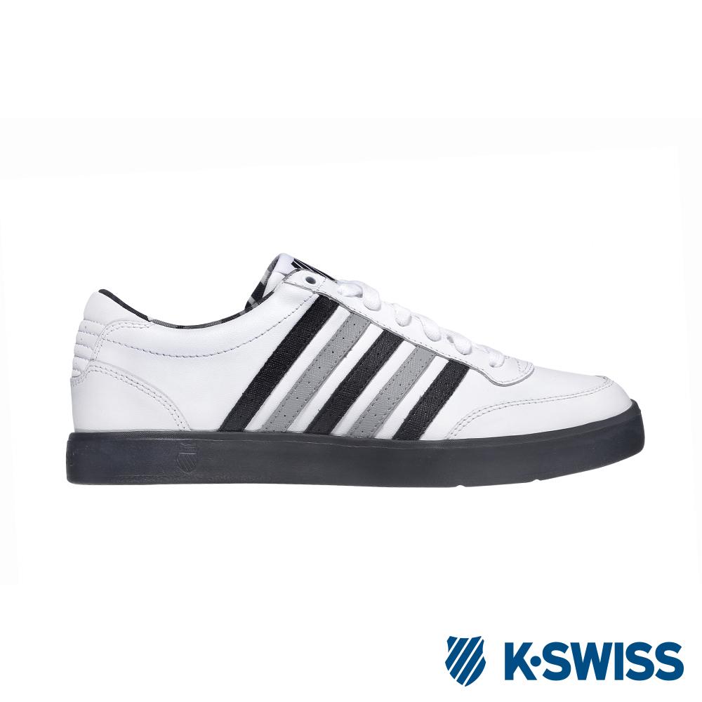 K-SWISS Court Lite CMF休閒運動鞋-男-白/黑/灰