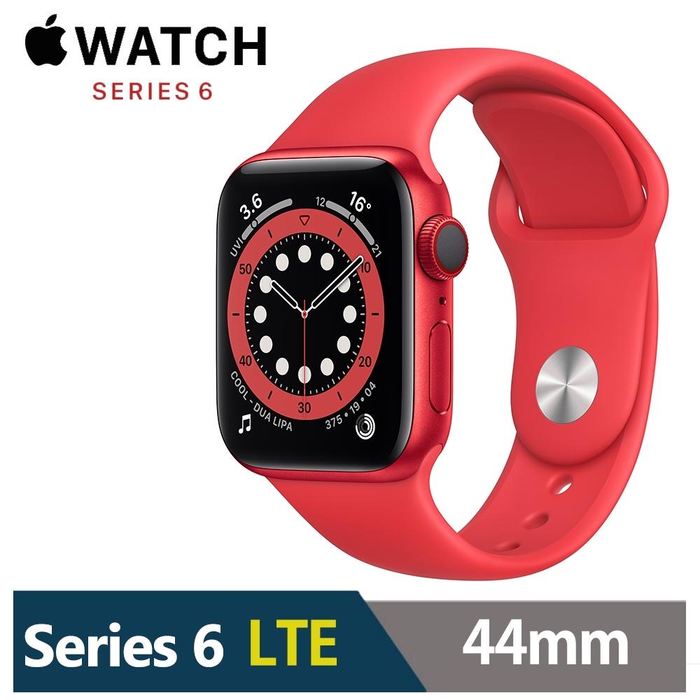 Apple Watch S6 44mm 鋁金屬錶殼配運動錶帶(GPS+Cellular版) product image 1