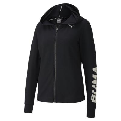 PUMA-女性基本系列Modern Sports連帽外套-黑色-亞規