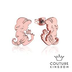 Disney Jewellery by Couture Kingdom 茉莉公主玫瑰金耳釘
