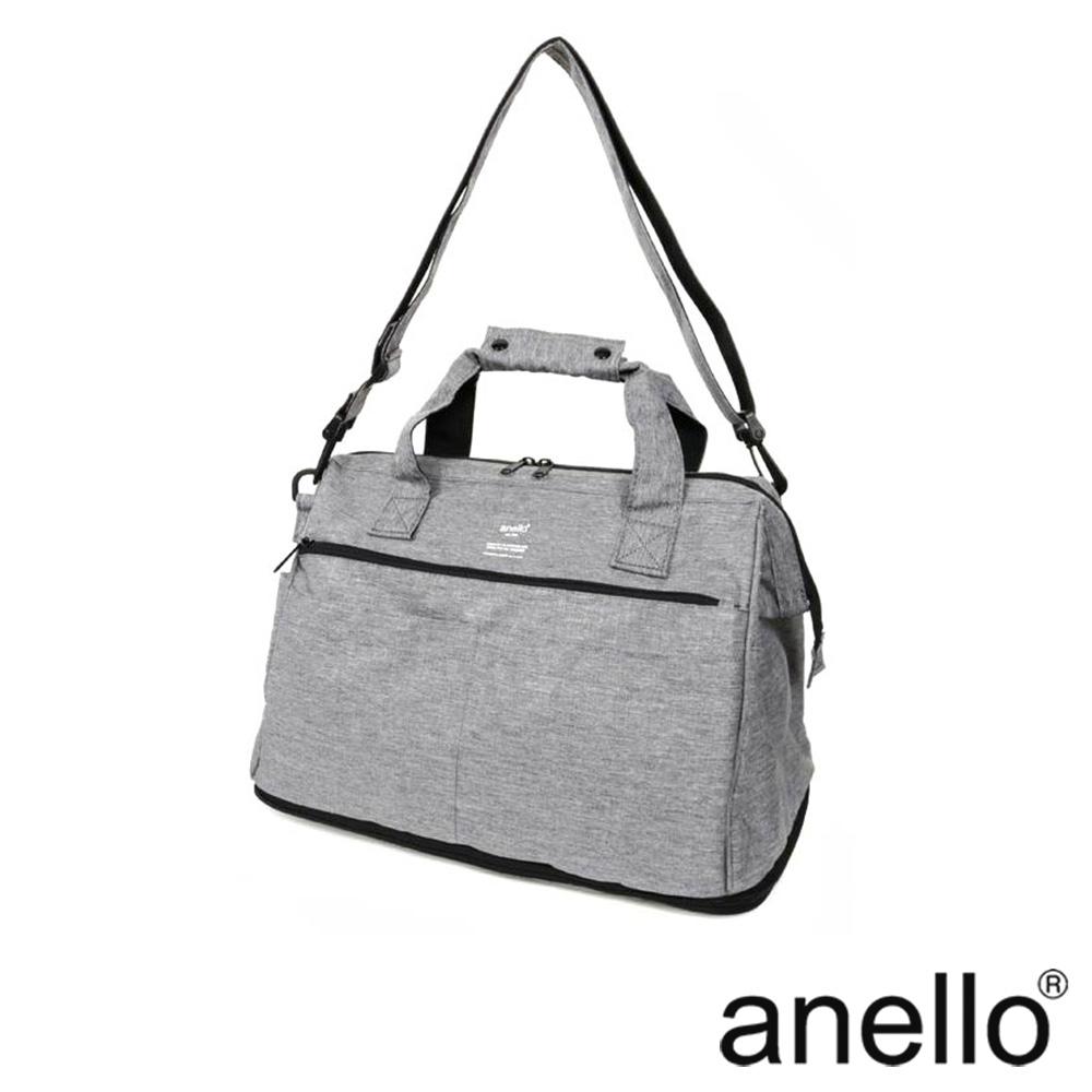 anello TRACK 2WAY 底部可延伸式大容量波士頓旅行袋 灰色