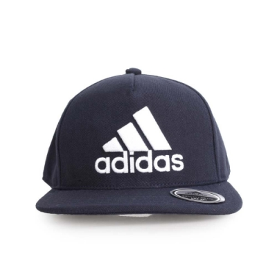 ADIDAS 運動帽 丈青白