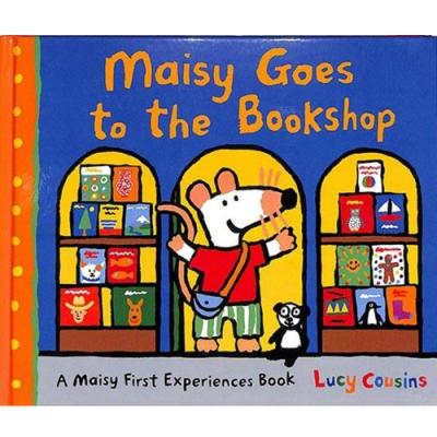 Maisy Goes To The Bookshop 波波逛書店精裝繪本