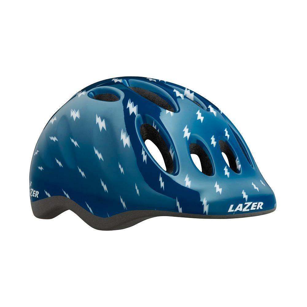 【LAZER】MAX+ 兒童用安全帽 閃電藍