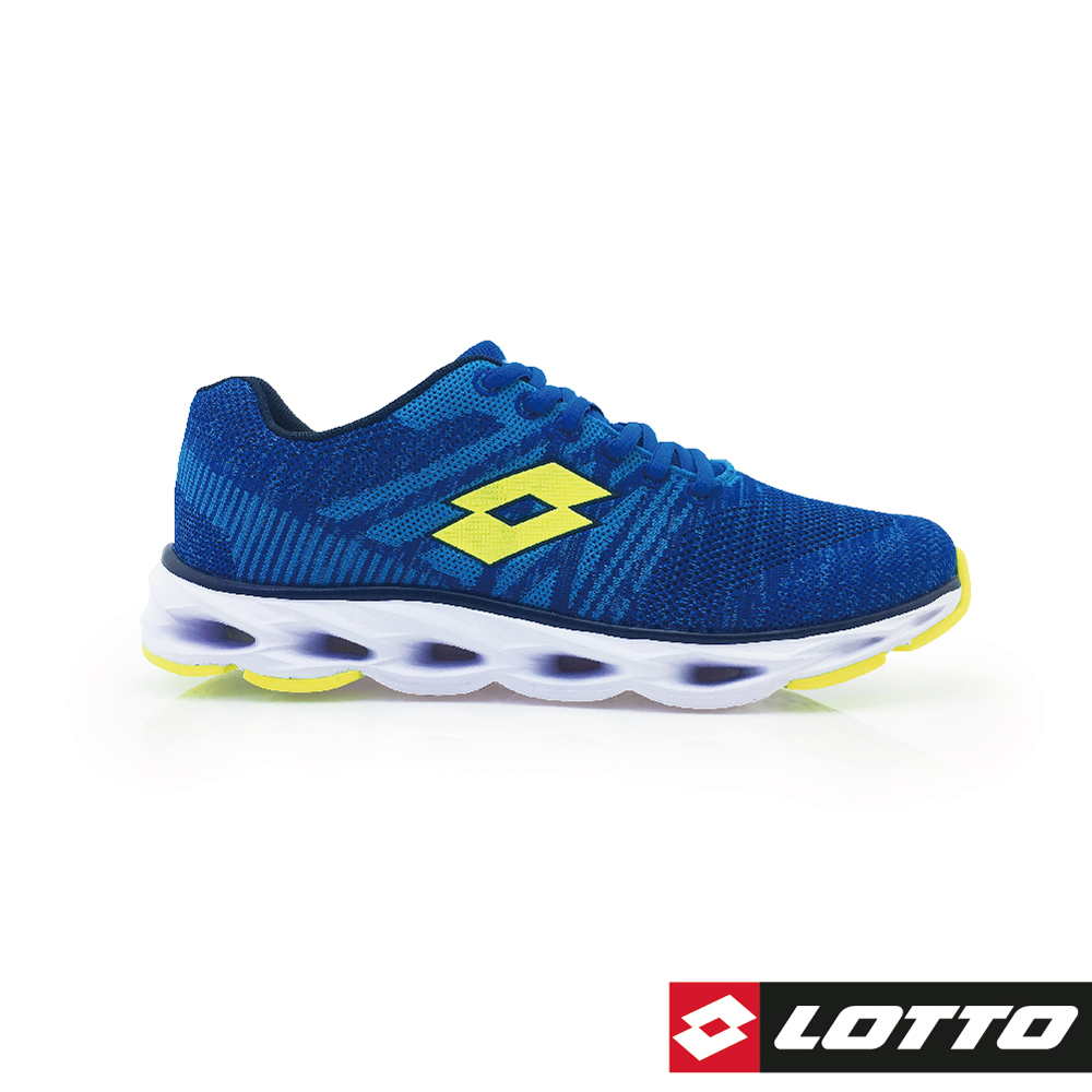 LOTTO 義大利 男 SUPER LITE輕量風動跑鞋 (藍)