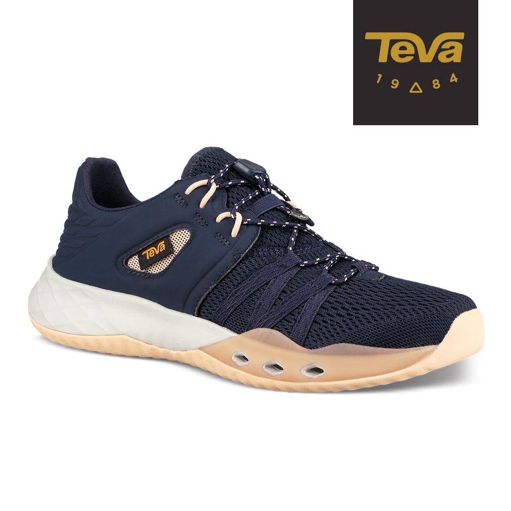 TEVA 女 Churn 輕量水陸休閒鞋 深藍 TV1099435ECL