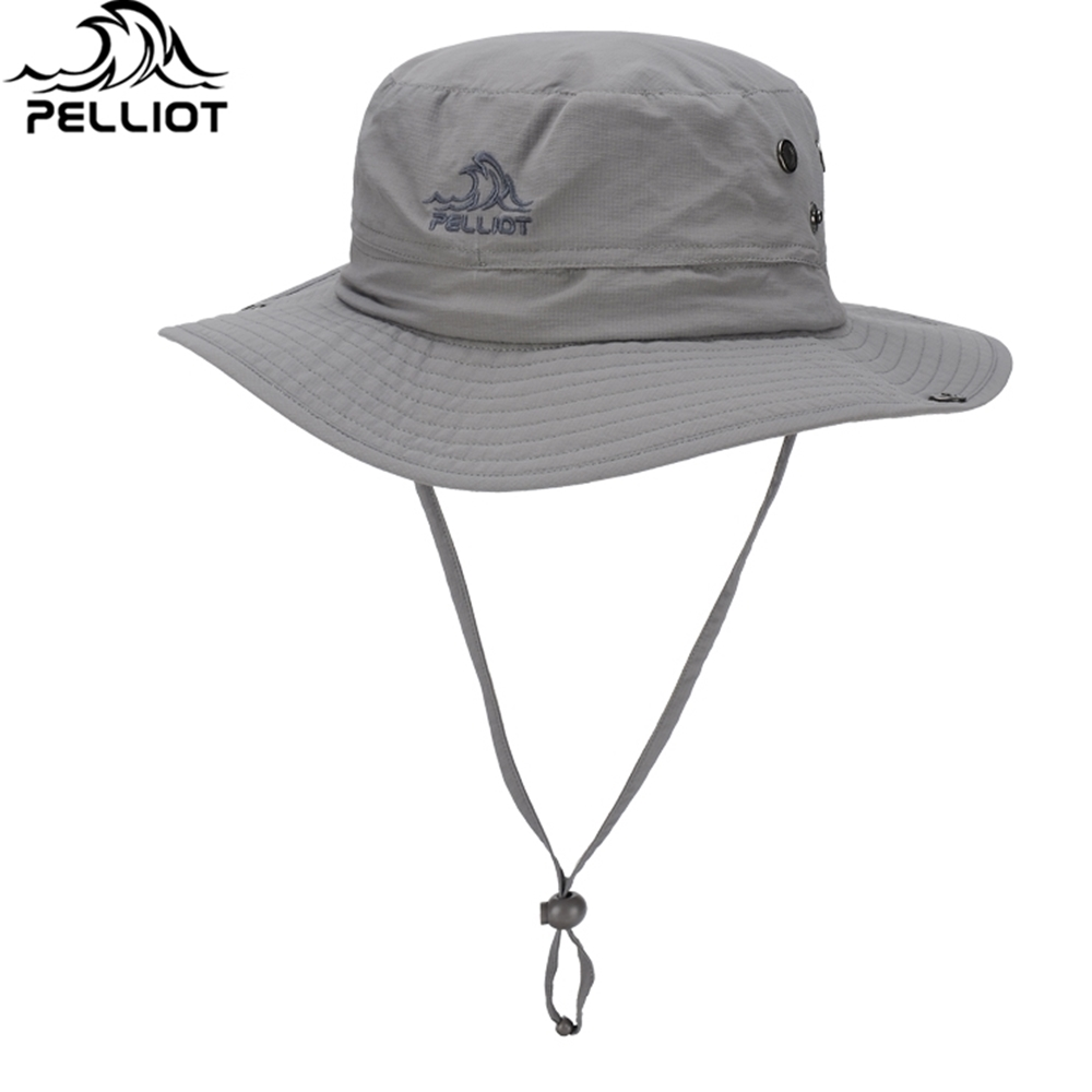Pelliot戶外速乾漁夫帽牛仔帽6521622-MZ02專業防曬透氣速乾