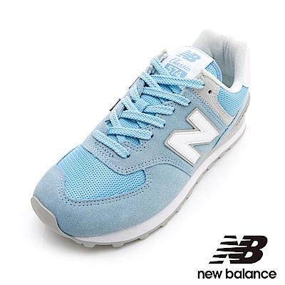 New Balance 574復刻鞋 女 粉藍 WL574ESB