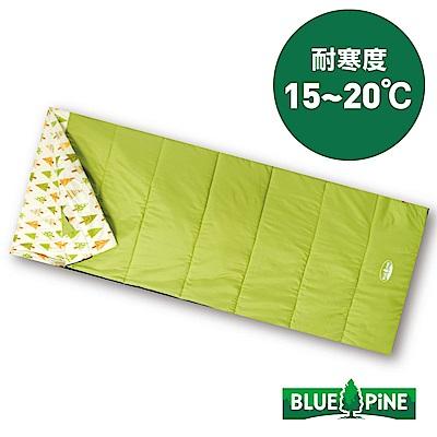 【BLUEPINE】方型纖維保暖睡袋 Lite『綠』B71805