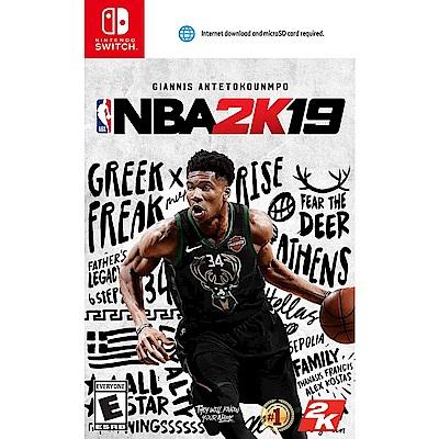 NBA 2K19 - NS 亞版 中文一般版