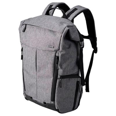 【HAKUBA】PLUSSHELL CITY04 ROLLTOP 後背包 (灰色)