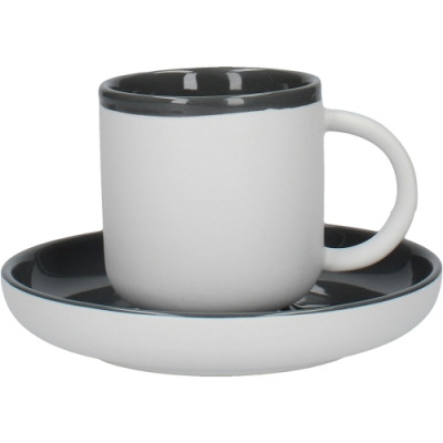 《CreativeTops》冷灰濃縮咖啡杯碟組