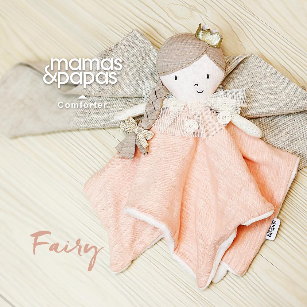 【Mamas & Papas】麻花辮公主(安撫巾手指偶)