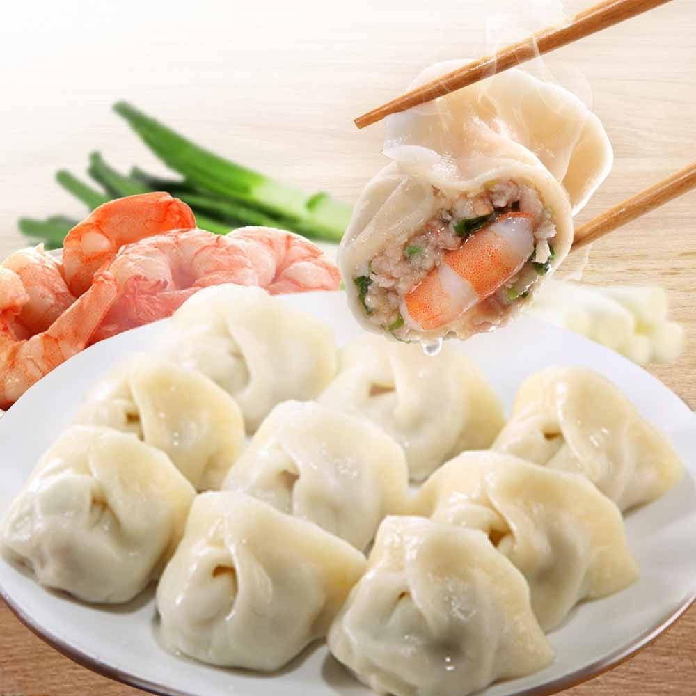 金黃玉米鮮肉餃(20入)x1+輕巧包雙寶鮮蝦鮮肉餃(10入)x1