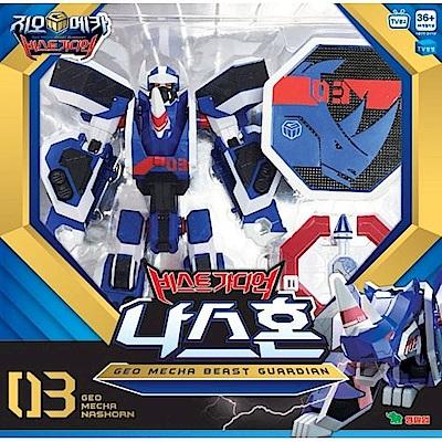 GEO MECHA機甲超獸王 藍犀王 YT16003 Young Toys 公司貨