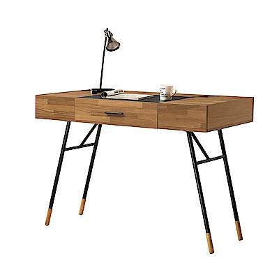 文創集 奧斯本時尚4尺多功能書桌(二色可選)-120x60x77cm免組