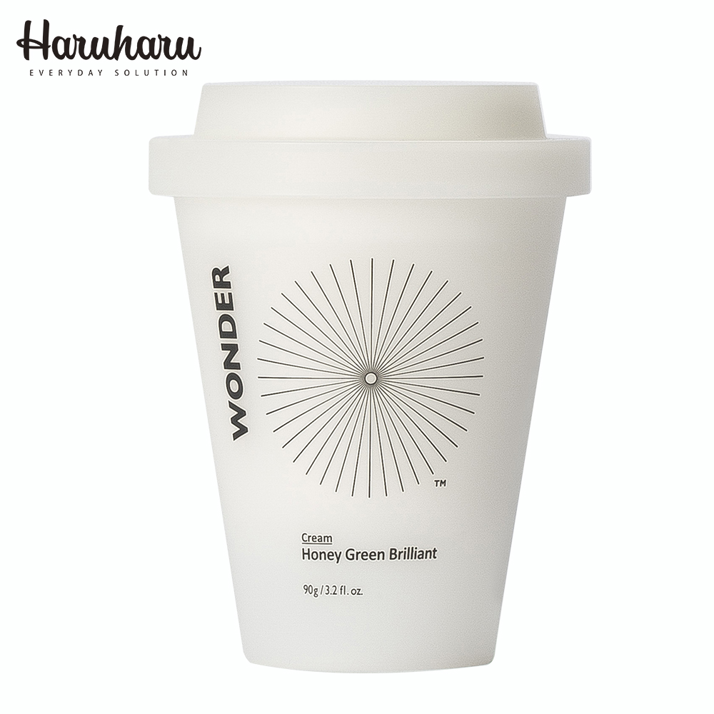 Haruharu 奇蹟活氧高效亮白蜂蜜綠茶美白霜 90g