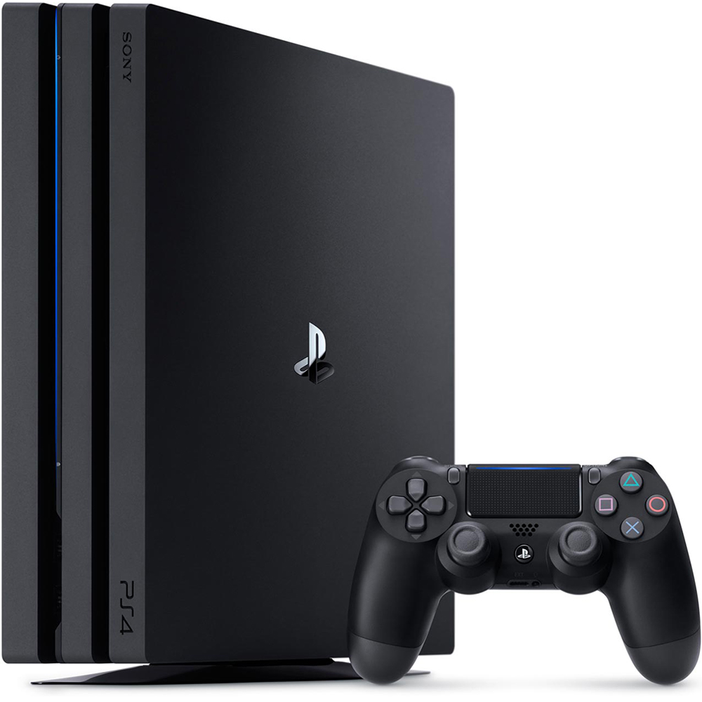 PS4 Pro 1TB主機 台灣公司貨 (黑色)+第二隻把手