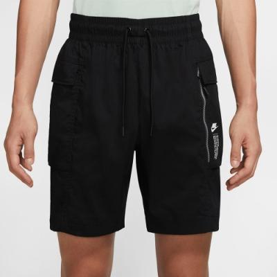 NIKE 短褲 休閒 慢跑 運動 男款 黑 CZ8679010 AS M NSW HBR WVN CARGO SHORT