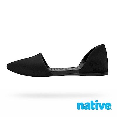 native AUDREY VELVET 女鞋-絨霧黑