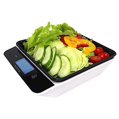KINYO LCD大螢幕電子料理秤