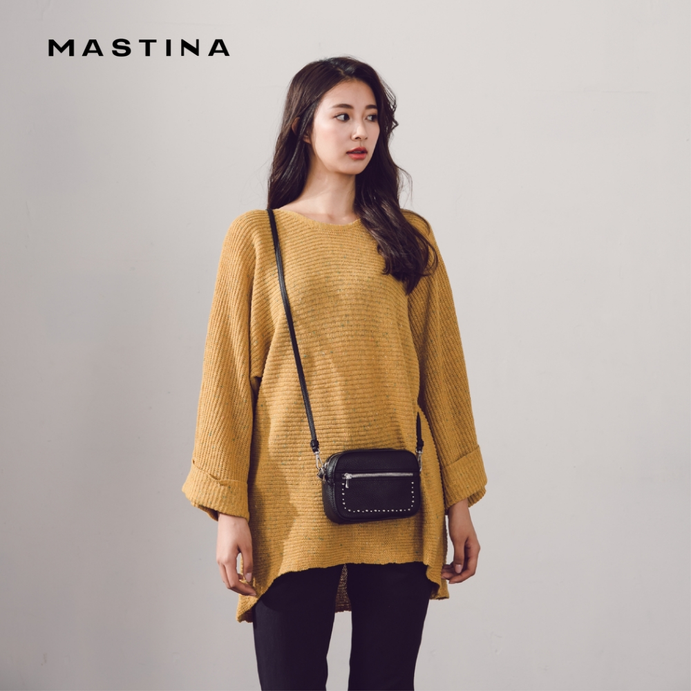 【MASTINA】簡約寬袖-針織衫(三色)