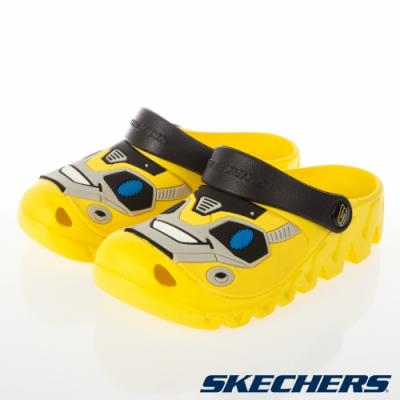 SKECHERS 男童洞洞鞋系列 CALI GEAR ZAGGLE-400074LYLBK