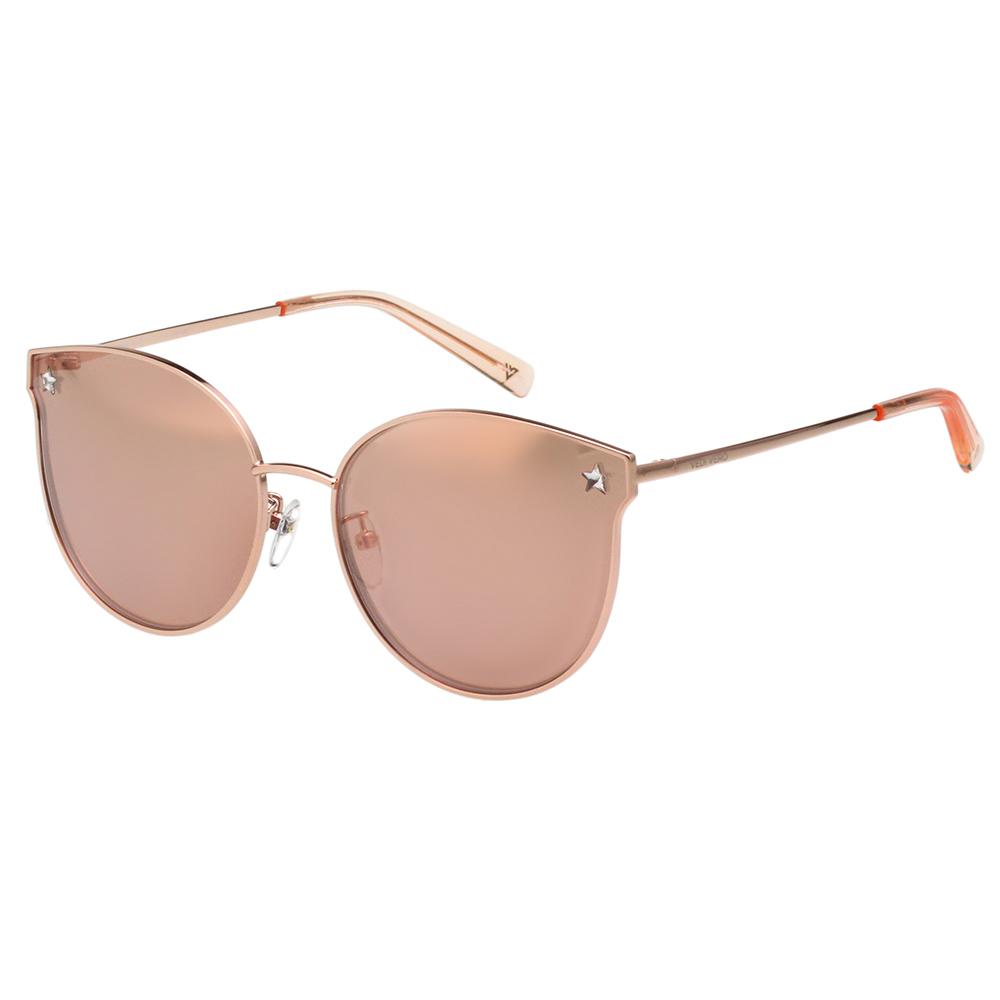 VEDI VERO 水銀面 太陽眼鏡 (玫瑰金色)VE861