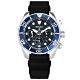 SEIKO 精工 PROSPEX 太陽能 潛水錶 防水200米 日期 矽膠手錶-藍色/44mm product thumbnail 1