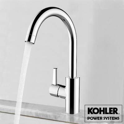 美國Kohler經典衛浴 TAUT 360度旋轉冷熱單槍水龍頭(K-21368T)