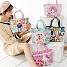 【優貝選】卡通童趣PU防水 多用途 保冷/保溫 便當袋/小提包/午餐包