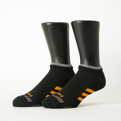 Footer除臭襪-輕壓力三線運動船短襪(男襪-T104)