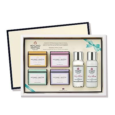 H&W英倫薇朵 典藏香氛沐浴禮盒-C款