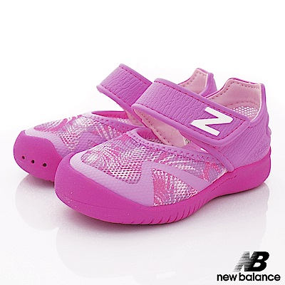 NewBalance 高透氣輕量款 IO208PNK粉紅(小童段)