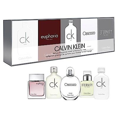 Calvin Klein 男性小香水禮盒5入組