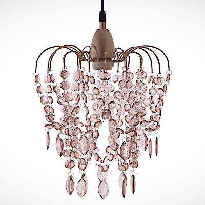 bnatural 玫瑰金壓克力珠吊燈 BNL00047