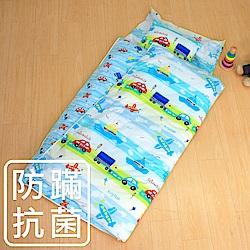 鴻宇 防蟎抗菌 可機洗被胎 兒童冬夏兩用睡袋 美國棉 精梳棉 夢想號