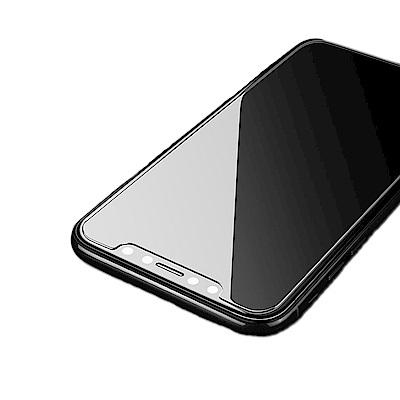iPhone XS Max 6.5吋 半版2.5D弧邊疏油防水鋼化玻璃膜保護貼-超值2片裝