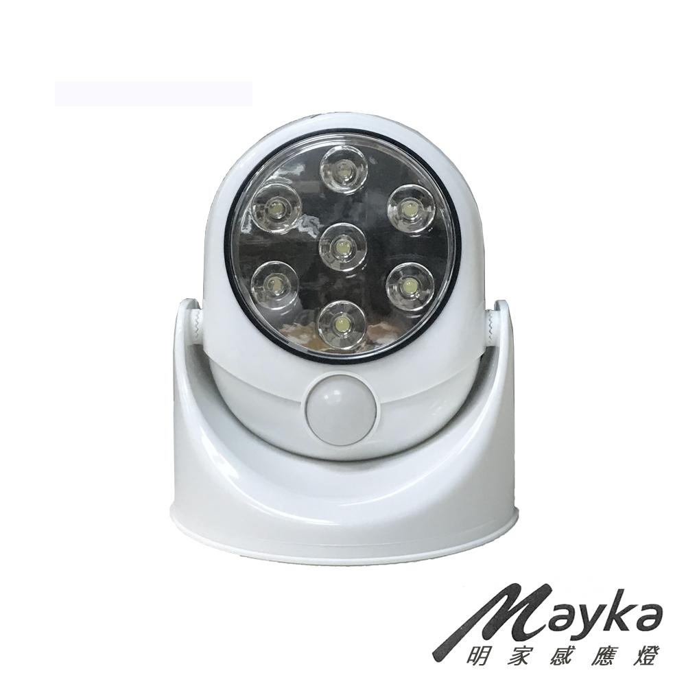 明家Mayka GN-7001 360度旋轉照明人體感應燈