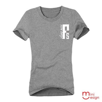 (女款)ps字母潮流短T 三色-Minidesign