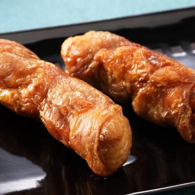 【上野物產】烤肉任選899 脆皮鮮嫩爆漿雞腿捲(200g土10%/包)x1包