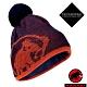 長毛象 Snow Beanie 超輕彈性雙層針織保暖羊毛帽_水鴨藍/椒橙 product thumbnail 1
