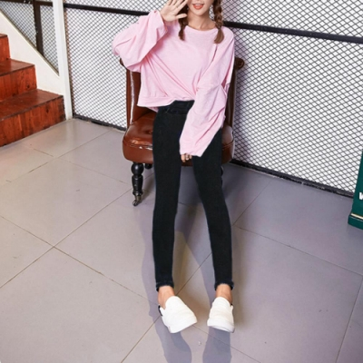 【brs】彈性小腳窄款鉛筆褲-3色