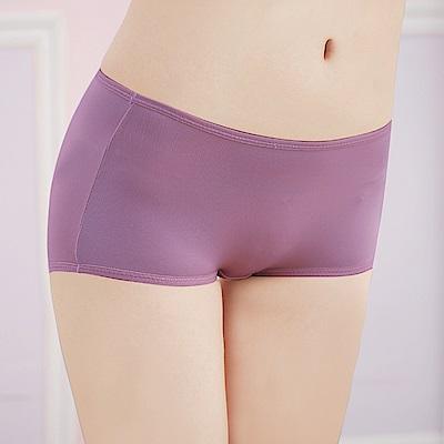 可蘭霓台灣製 舒適透氣Tactel M-XL平口褲 高貴紫