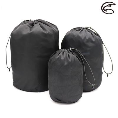 【ADISI】衣物束口收納袋 AS21032 / 黑色(M-XL)