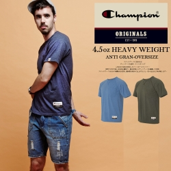 經典冠軍CHAMPION BASIC斜袖口袋短T 美規AO250 素色
