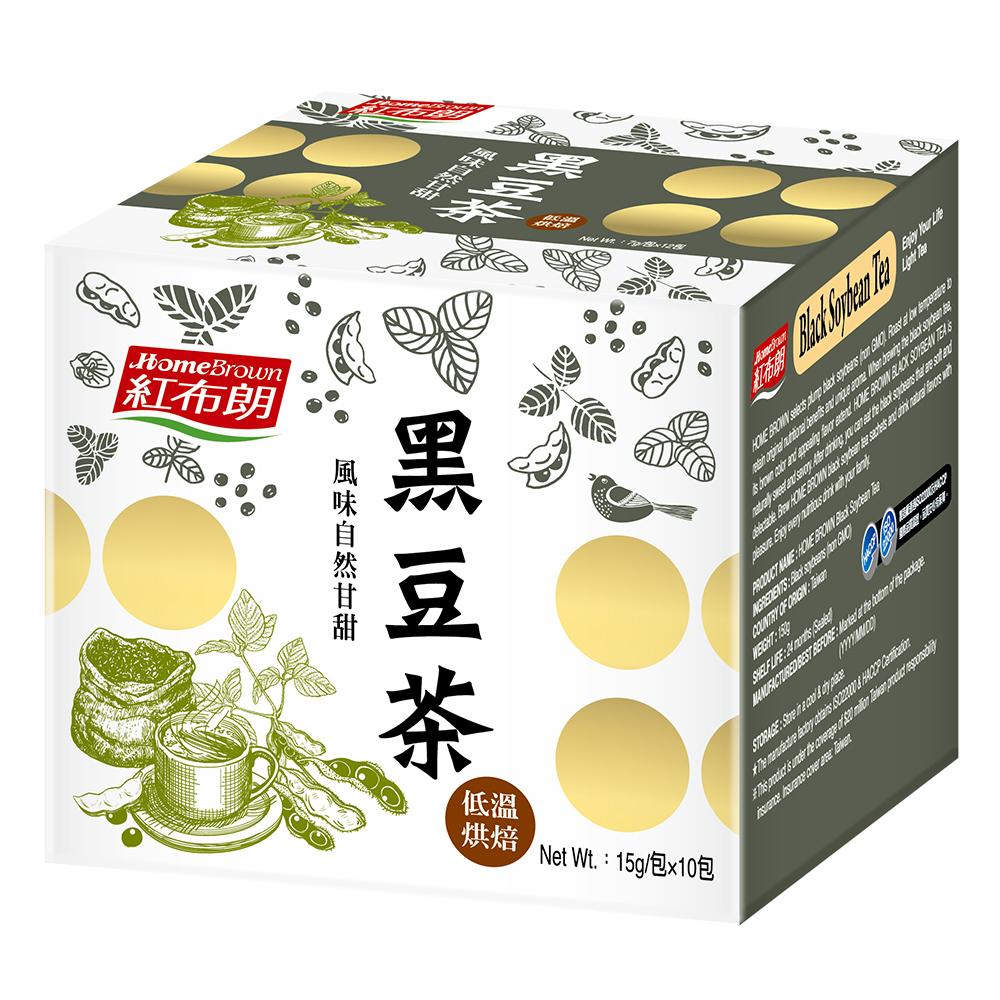 (滿額888)紅布朗 黑豆茶(15gx10包)