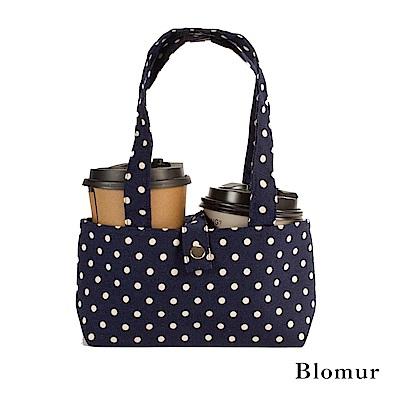 Blomur 雙杯套/早餐袋-藍色點點