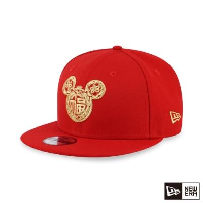 NEW ERA 9FIFTY 童950 生肖系列 米奇 紅 棒球帽