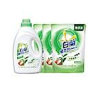 白蘭 植萃皂1+3件超值組(2KGx1+ 1.6KGx3)_清新除菌